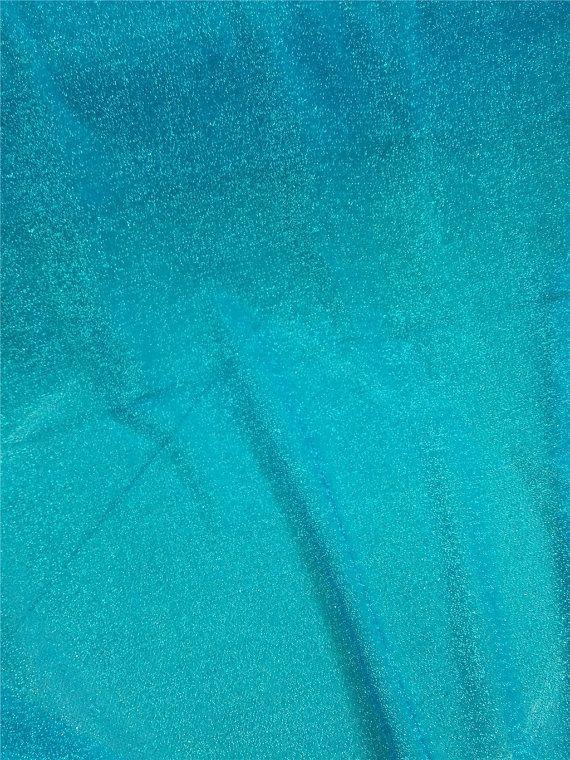 Congelés tissu, paillettes tissu congelé, Elsa Fabric, Costume tissu, tissu bleu pour costume de reine Elsa FR72103 par l'yard
