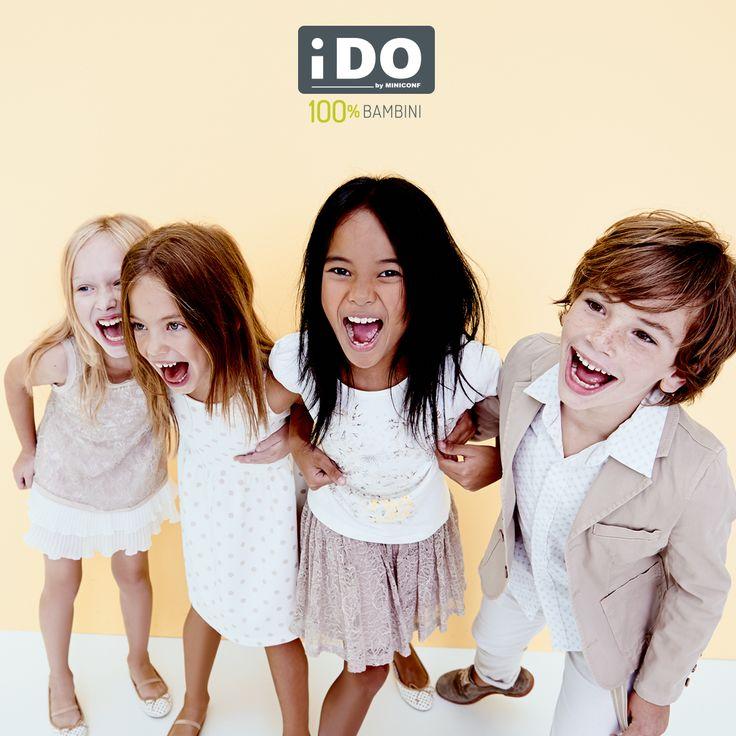 Giochi, salti, corse e risate. I Bambini iDO sono  #100x100bambini  iDO moda bambini - Collezione Primavera Estate 2015   Spring Summer Collection 2015 #SS15 #kidsfashion #springsummer #modabambino