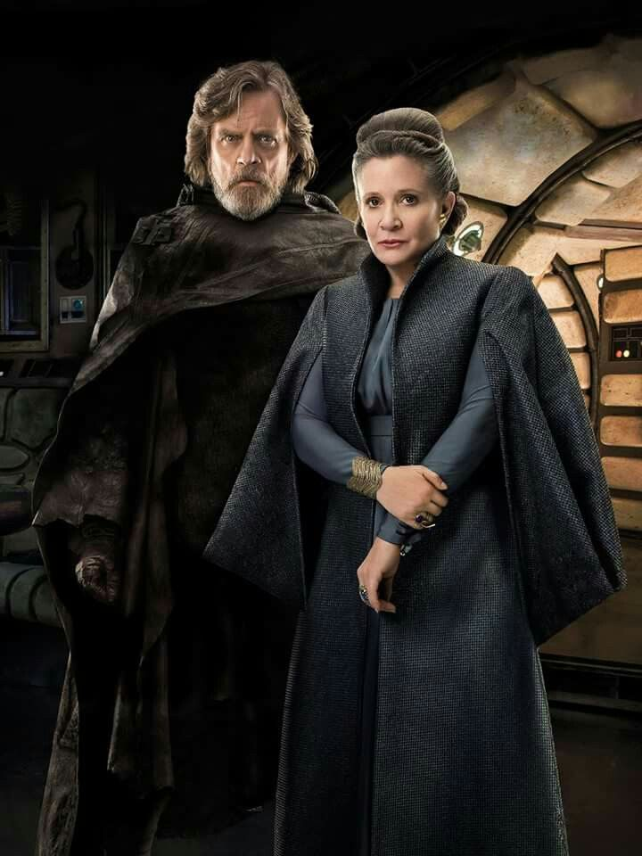 Luke and Leia #TheLastJedi