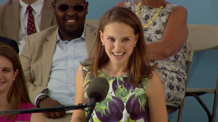 Natalie Portman Harvard Commencement Speech | Harvard Commencement 2015 | Brave and Truthful... Love it!
