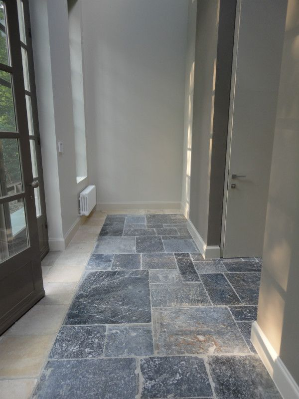 Belgian reclaimed tiles