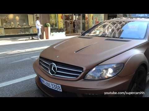 Mercedes-Benz CL-Class (W216) [Pre-2011 Model] w/ PD Black Edition V2 Widebody Aerodynamic-Kit