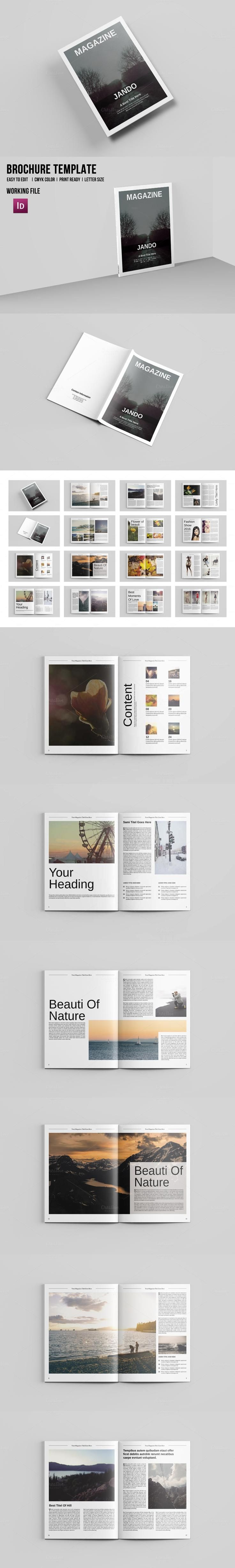 65 best Cool & Clean Brochures, Magazines images on Pinterest ...