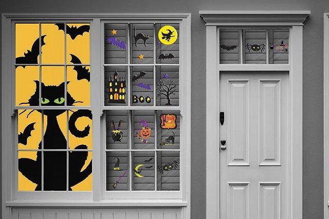 Arrivano le decorazioni di Halloween per le finestre! Ed ecco tante idee fai da te con foto e istruzioni.