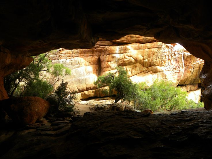 View from a cave in the Cederberg