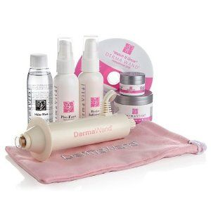 Dermawand Deluxe Renew Kit with 5 Derma Vital Skincare Products - Derma Wand For Wrinkles | Puffy Eyes | Saggy Skin | Non-Surgical Face Lift...