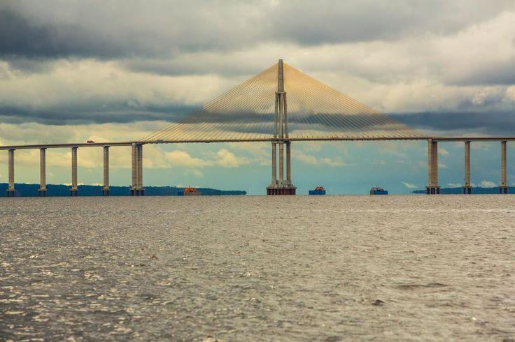 Manaus- AM, Brasil- A Ponte Rio Negro Foto: Embratur