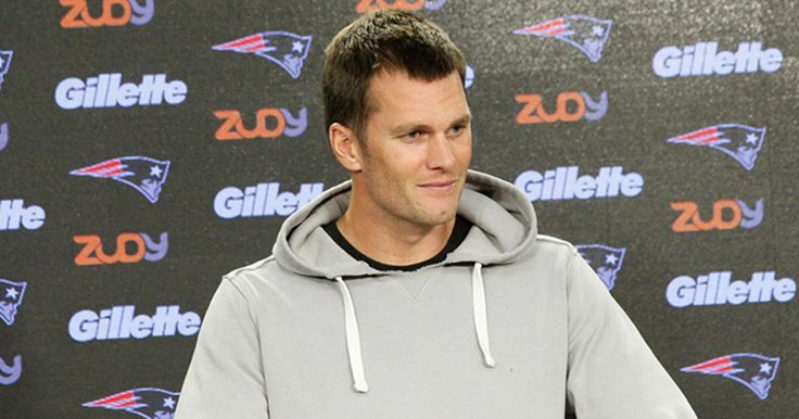 Patriots Quarterback Tom Brady addresses the media during his press conference at Gillette Stadium on Wednesday, October 12, 2016.
