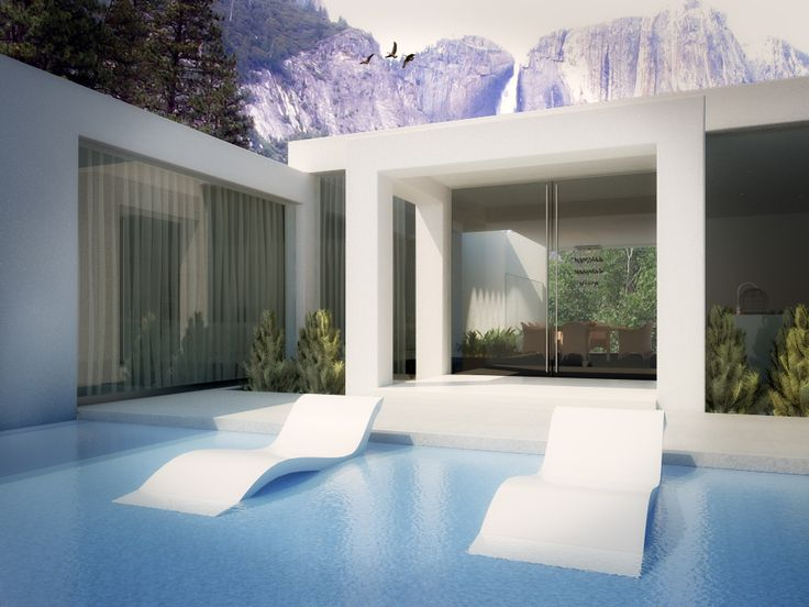 3d design - vray - 3ds max - architecture - architectural visualization - 3d renders - pool render
