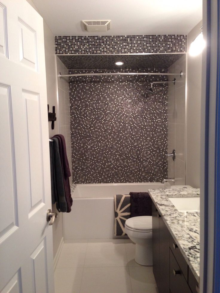 Dramatic Shower Wall And Bulkhead To House Lighting When