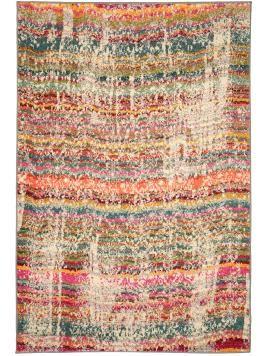 Kurzflor-Teppich Liguria Multicolor 120x180 cm