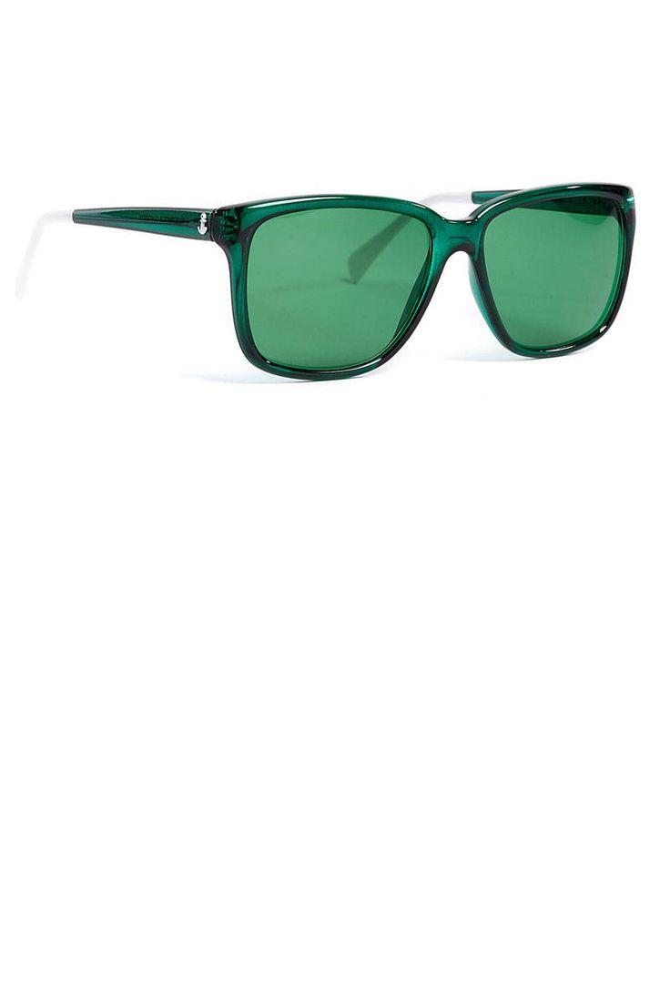 Sheriff & Cherry Plastic Sunglasses, $116.87; my-wardrobe.com   - ELLE.com
