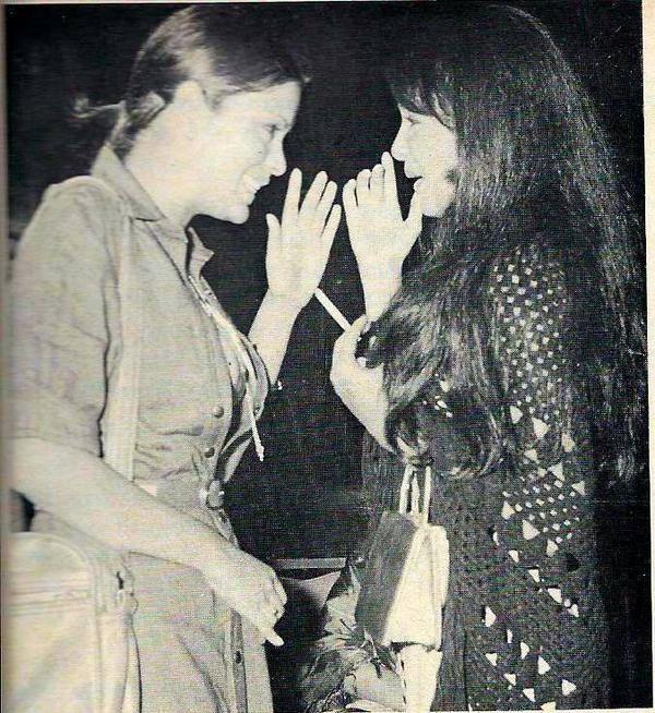 Zeenat Aman and Parveen Babi.