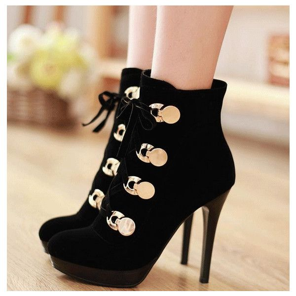 Fashion style Boot Ankle heels tumblr pictures for lady