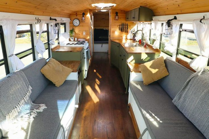 School bus conversions can be one of the most spacious ways to travel at a fraction of the cost of a big RV. With hookups or without, these inspiring bus conversions are both creative and functional.