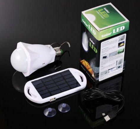 Outdoor Emergency Lamp Solar Bulb Led Energy Saving Camping Light Campinglights