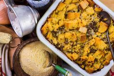 Cali Rich's Recipe for Cornbread and Sausage Dressing | Home & Family | Hallmark Channel