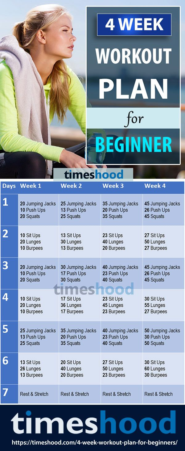 beginner workout at home without equipment pdf
