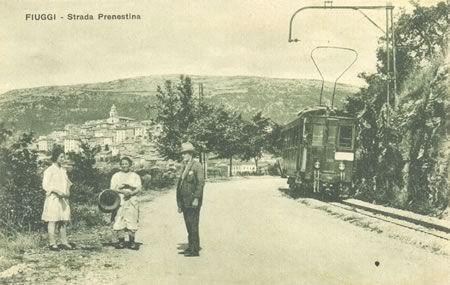 La ferrovia museo della stazione di Colonna