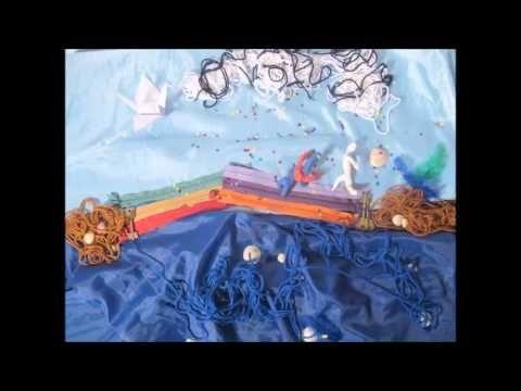 Blanquito y la grulla. | Video de animación realizado por los chicos del programa Podes en el Taller de Animación del Espacio Fundación Telefónica del 11/09/2013.