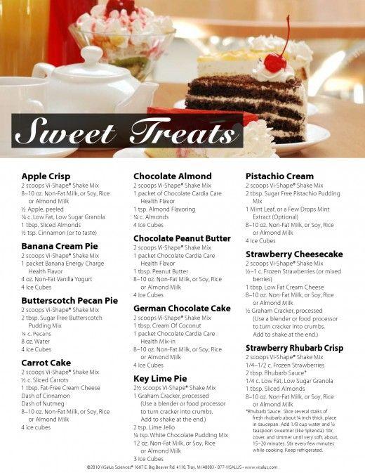 Sweet Treats Body By Vi Shake Recipes