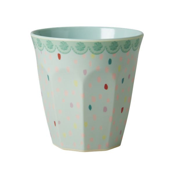 Raindrops Melamine Cup by Rice DK, Offerd by Modern Rascals. Fun, Durable Kids Cups and Dishes.