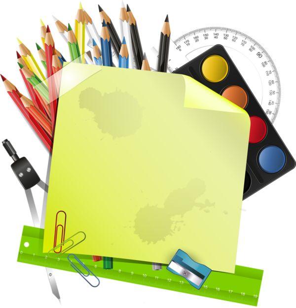 crayons de couleurs,articles d ecole