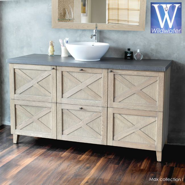 Oak bathroom furniture| the Max collection.