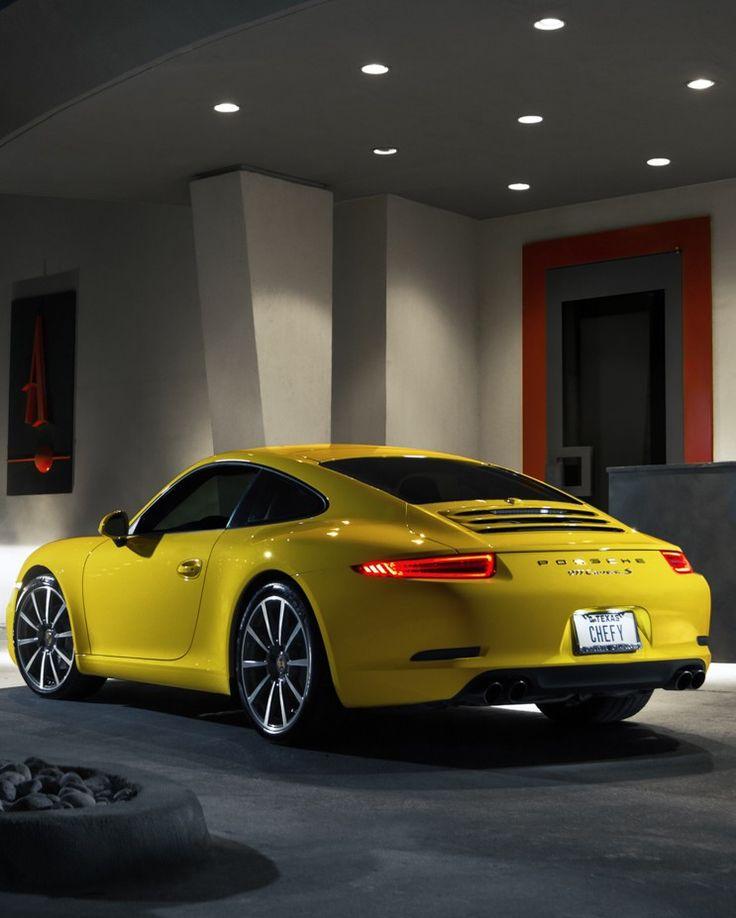 Porsche 911 Carrera 4S J'aime PÔ le jaune mais elle est canonissime!