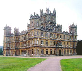 Highclere castle celebrity weddings