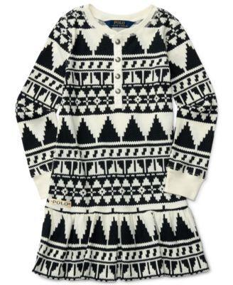 Ralph Lauren Southwestern-Print Dress, Toddler Girls (2T-5T) & Little Girls (2-6X) | macys.com
