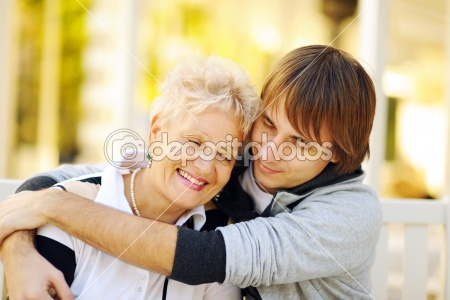 It's just a stock photo, but do you know how hard it is to find happy pic of a mother & her teen or young adult son? I hope for this for all mothers & sons.