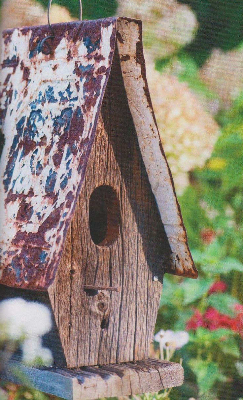 Rustic Birdhouses 2011 Best Bird Houses Images On Pinterest