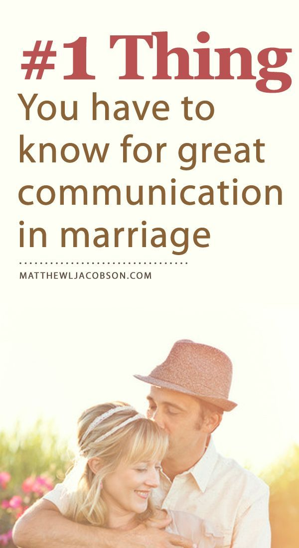 This one bit of knowledge is missing from many (most) marriages. Understand this and bring harmony & understanding to your next conversation. MatthewLJacobson.com