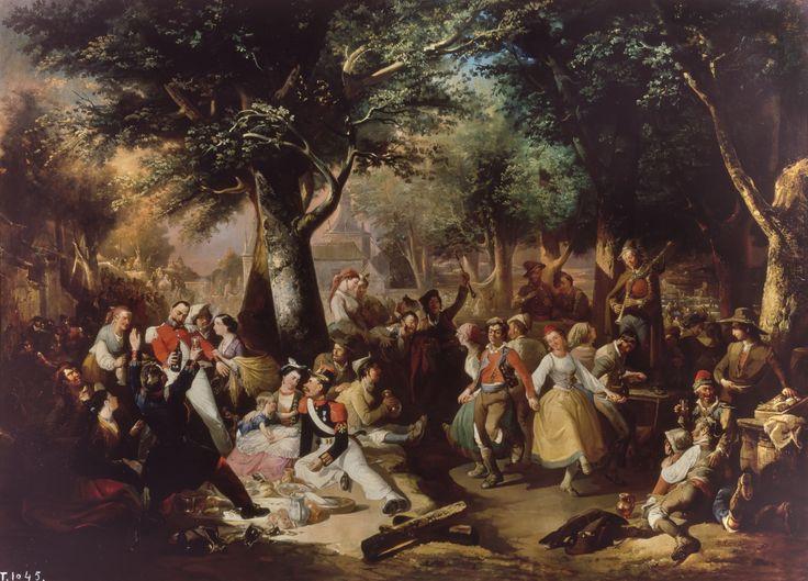 Manuel RODRIGUEZ GUZMÁN, Baile en la Virgen del Puerto