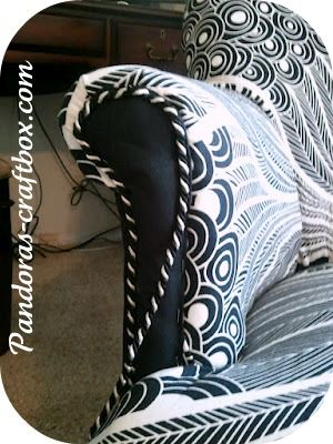 Chair Reupholstering tutorial: because wingback chairs ain't cheap.