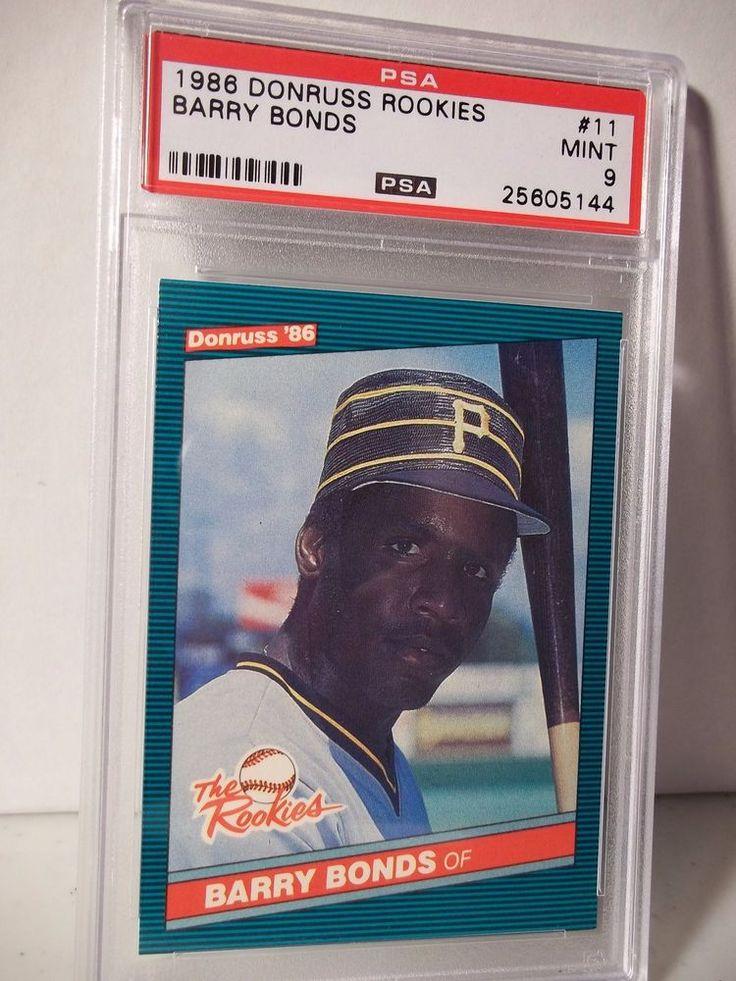 barry bonds baseball cards ebay