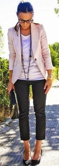 simple x chic/work outfit spring/summer