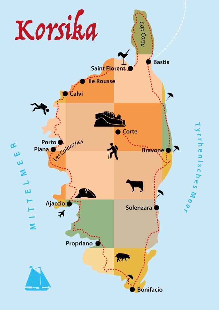 Korsika Reisetipps: Route, Unterkunft, Wandern, Strände, Regionen