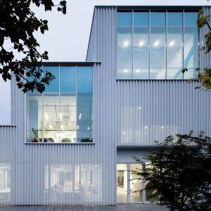 Shanghai Office Transformed Into Aluminium Clad Tech Incubator By Schmidt  Hammer Lassen