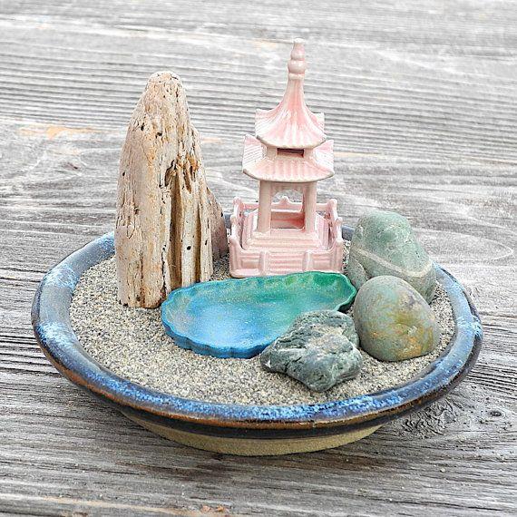 96 best zen gardens images on pinterest zen gardens fairies garden and fairy gardening - Zen garten miniatur set ...