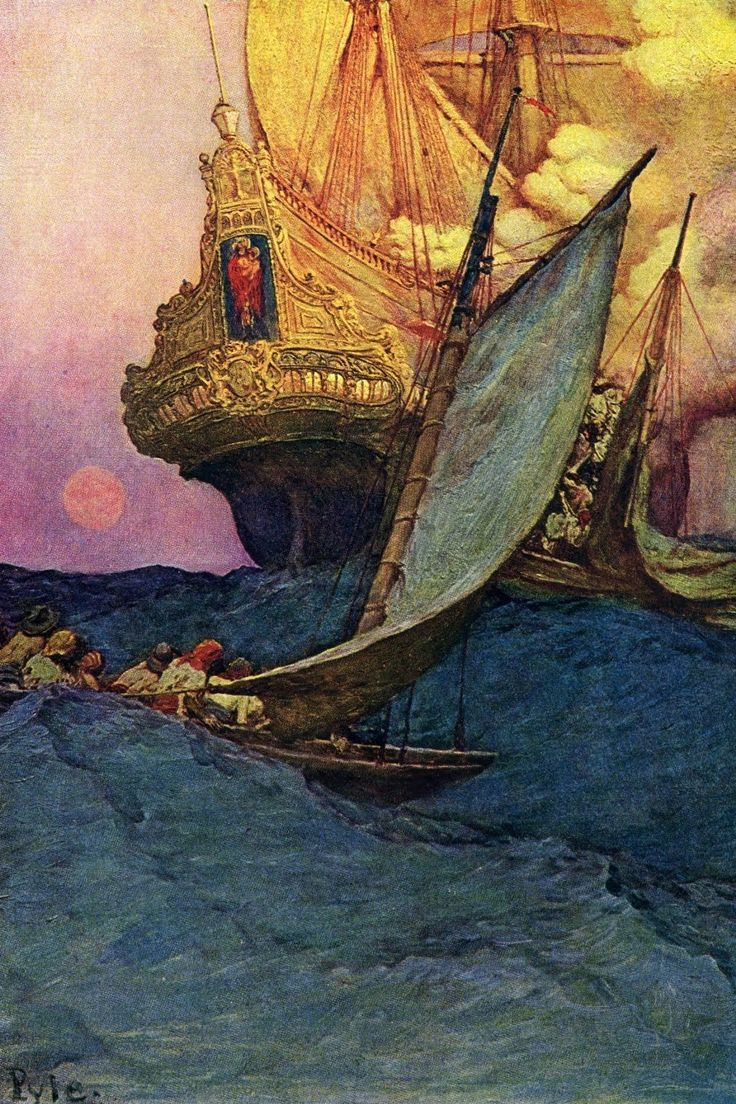 Watercolor artists directory wiki - Howard Pyle