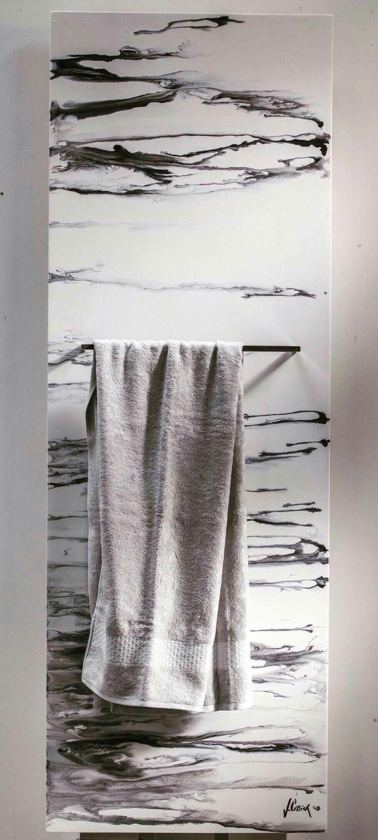 Marble Baron - Towel warmer by Cinier