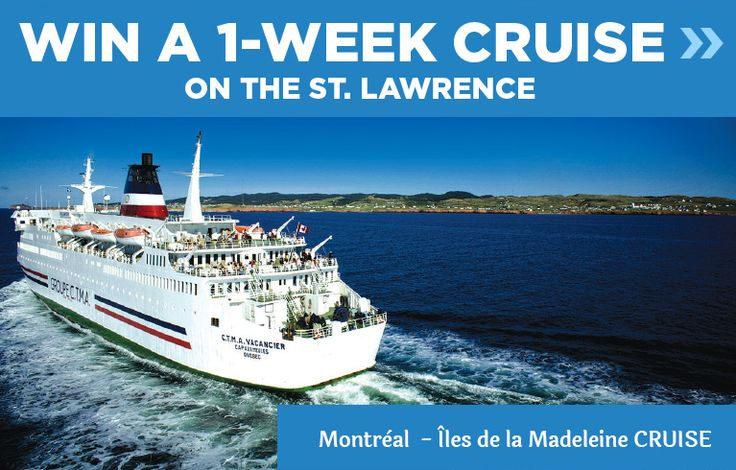Quebec maritime - Win a Cruise from Montreal to the Iles de la Madelaine - http://sweepstakesden.com/quebec-maritime-win-a-cruise-from-montreal-to-the-iles-de-la-madelaine/