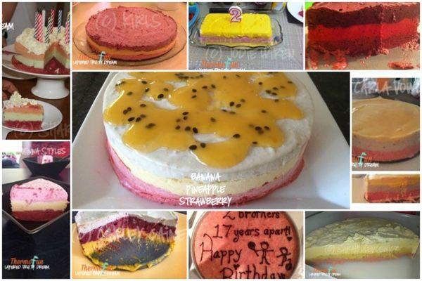 ThermoFun – Layered Fruity Dream Ice Cream Cake Ideas