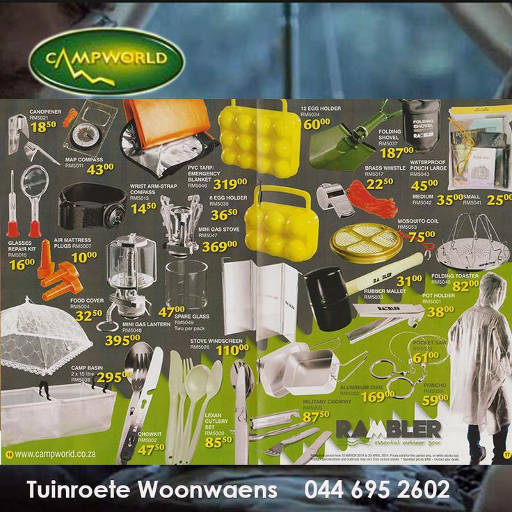 Camping is sometimes made easier by the smaller things you take with. Like these handy items to get you out of tight spots or just to make it pleasant whilst away from home. Cash in on our Mid-year clearance and save on your camping equipment. #outdoorliving #camping #utilities