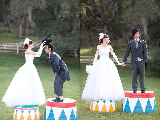 Beautiful Carnival-Themed Wedding Ideas