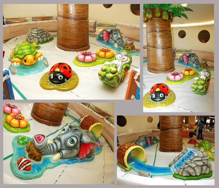 Jungle Indoor Playground System   Cheer Amusement CH-SFP150030 - playgroundcheer.com