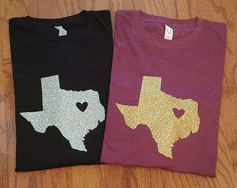 I love Texas Glitter Shirt Texas Tee Custom Texas Shirt  https://www.etsy.com/listing/269941426/i-love-texas-glitter-texas-love-shirt?ref=shop_home_active_5