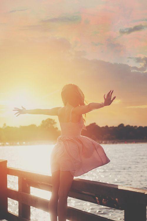 How I feel when I watch the sunrise!